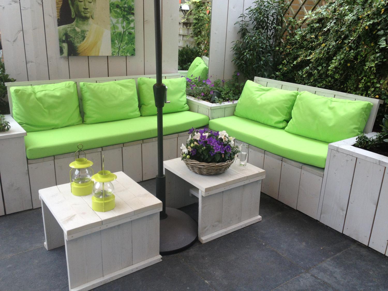Creatief Met Steigerhout : Steigerhout zoetermeer lex van wijk hoveniers